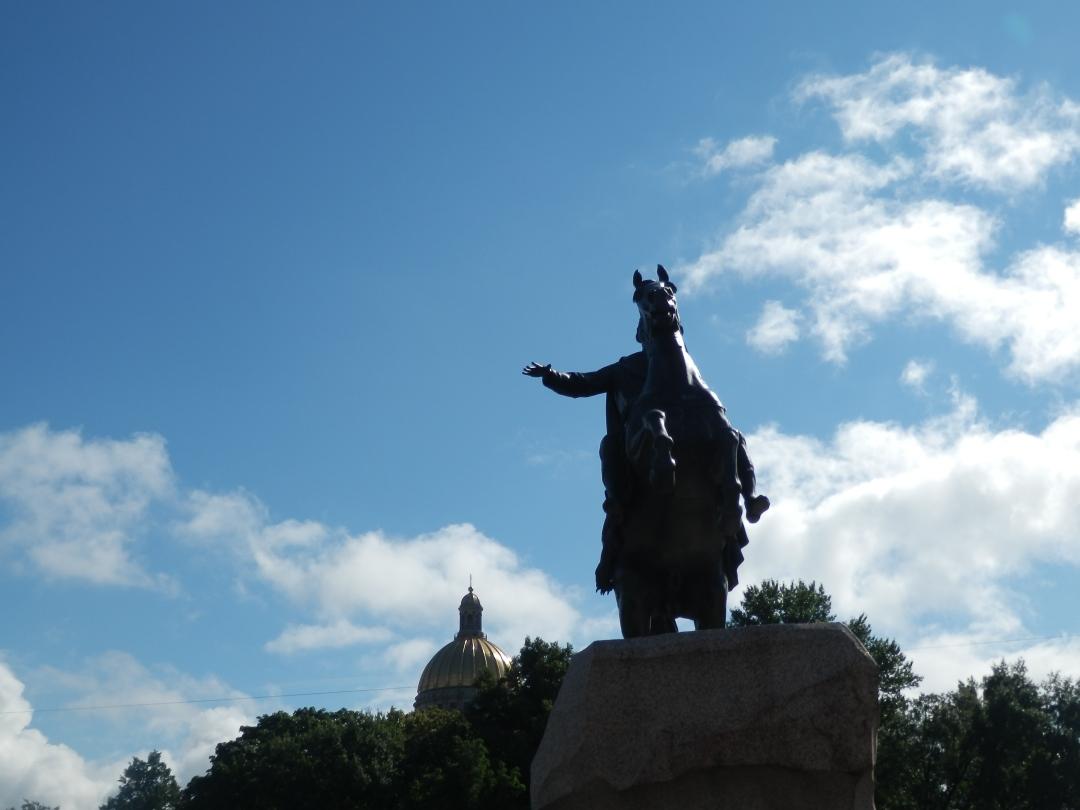 Cavalier de Bronze